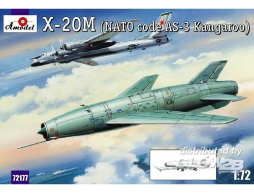 Amodel X-20M (AS-3 Kangaroo) Soviet guided miss 1:72 (72177)