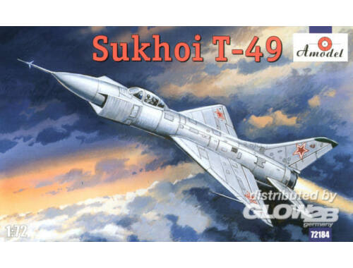 Amodel Sukhoi T-49 Soviet interceptor 1:72 (72184)