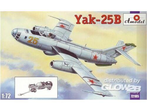 Amodel Yakovlev Yak-25B Soviet bomber 1:72 (72185)