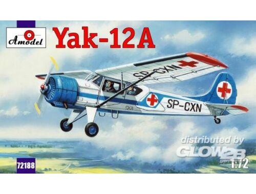 Amodel Yakovlev Yak-12A Soviet multirole aircr. 1:72 (72188)