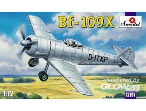 Amodel Bf-109X German experimental aircraft 1:72 (72191)