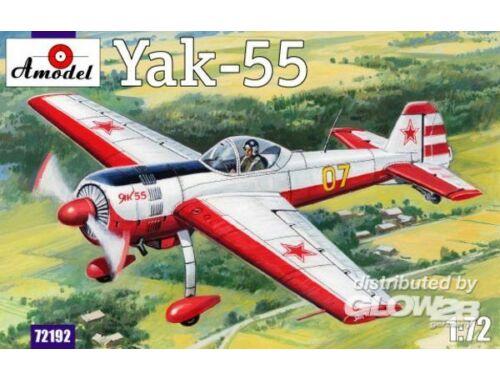 Amodel Yak-55 Soviet aerobatic aircraft 1:72 (72192)