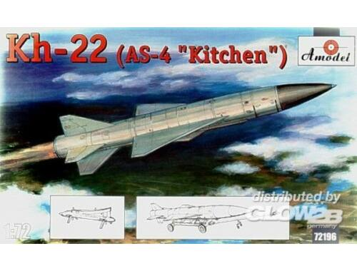 Amodel Kh-22(AS-4 'Kitchen') long-range anti-sh 1:72 (72196)