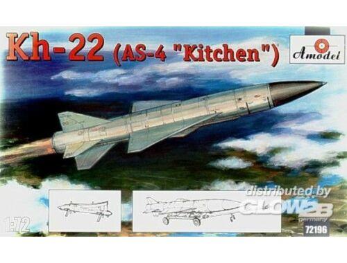 Amodel Kh-22(AS-4 'Kitchen') long-range anti-sh 1:72 (72196)