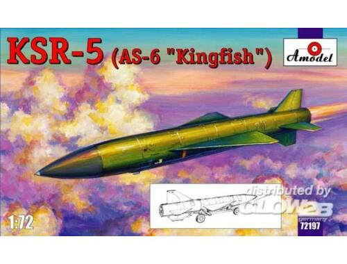 Amodel KSR-5(AS-6 'Kingfish') long-range anti-s 1:72 (72197)