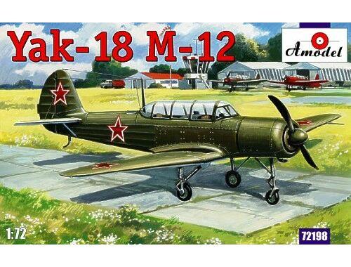 Amodel Yak-18 M-12 1:72 (72198)