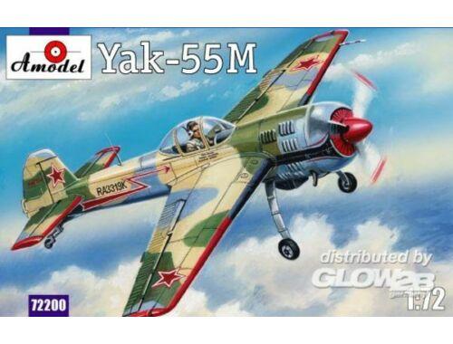 Amodel Yak-55M Soviet aerobatic aircraft 1:72 (72200)