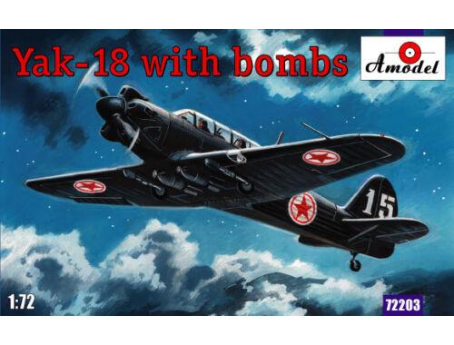Amodel Yak-18 Korey, Poland, USA 1:72 (72203)