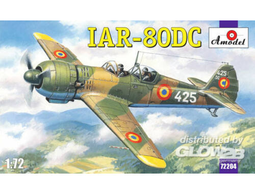 Amodel IAR-80DC Romanian training aircraft 1:72 (72204)