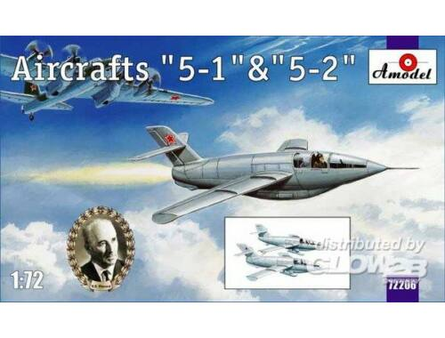 Amodel Aircraft '5-1'   '5-2' 1:72 (72206)