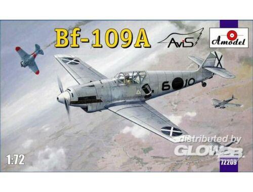 Amodel Messerschmitt Bf-109A German fighter 1:72 (72209)