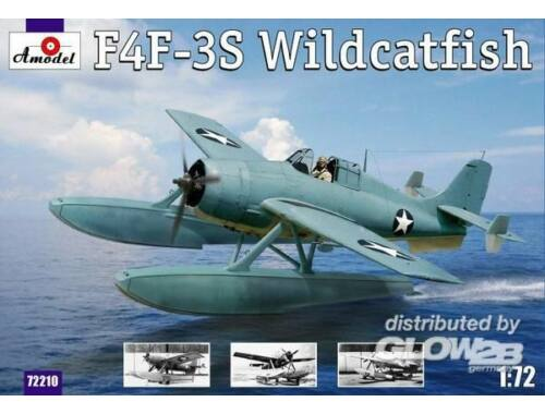 Amodel F4F-3S 'Widcatfish' USAF floatplane 1:72 (72210)