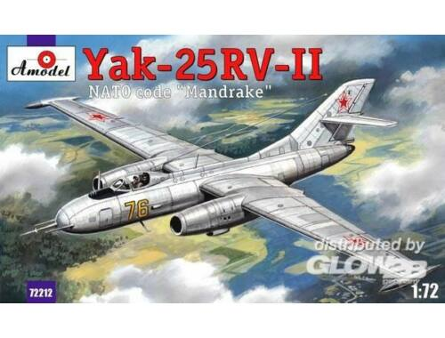 Amodel Yakovlev Yak-25RV-II Mandrake sovj. int. 1:72 (72212)