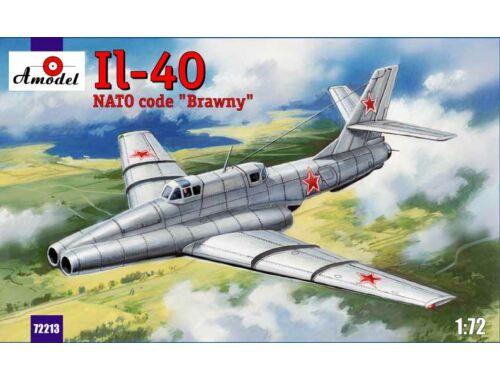 """Amodel Ilyushin IL-40 """"Brawny"""" Soviet jet-engin 1:72 (72213)"""