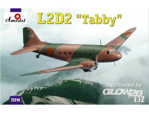Amodel L2D2 Taddy Japan transport aircraft 1:72 (72214)