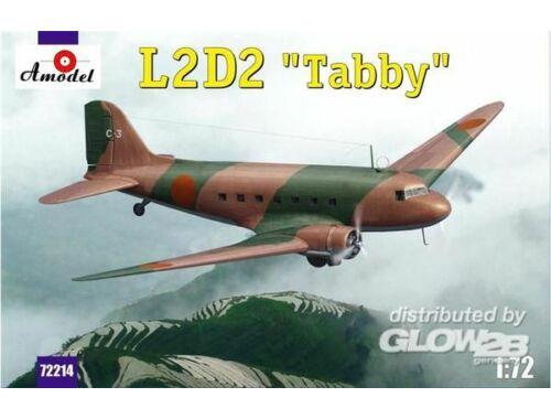 Amodel L2D2 Taddy Japan transport aircraft 1:72 (72214)