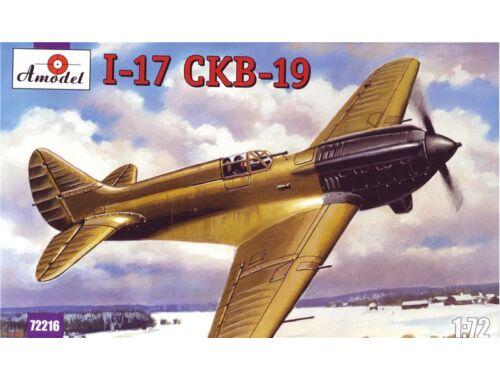 Amodel Polikarpov I-17 (CKB-19) Sov.single-seat 1:72 (72216)