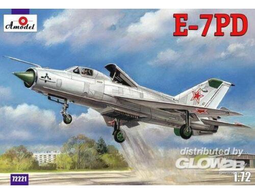 Amodel E-7PD Soviet aircraft 1:72 (72221)