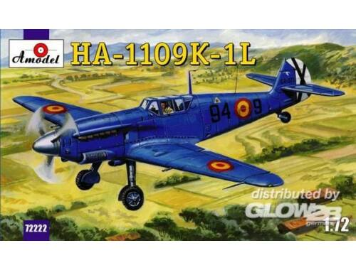 Amodel HA-1109-K1L Spanish fighter 1:72 (72222)