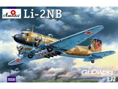 Amodel Lisunov Li-2NB Soviet light bomber 1:72 (72231)