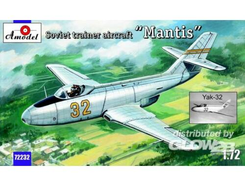 "Amodel Yak-32 ""Mantis"" Soviet trainer aircraft 1:72 (72232)"