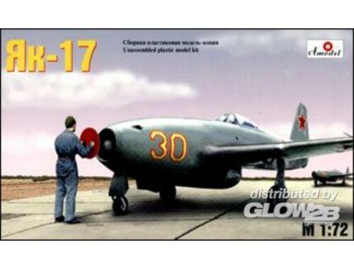 Amodel Yakolev Yak-17 Soviet jet fighter 1:72 (7224)