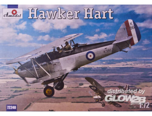 Amodel Hawker Hart 1:72 (72240)