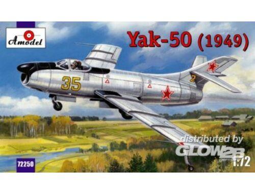 Amodel Yakovlev Yak-50 (1949) 1:72 (72250)