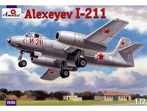Amodel Alexeyev I-211 1:72 (72251)