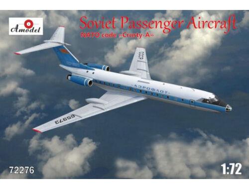 Amodel Tupolev Tu-134A Aeroflot airlines 1:72 (72276)