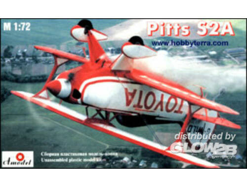 Amodel Pitts S2A sport aircraft 1:72 (7228)