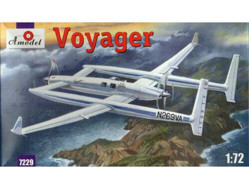 Amodel Rutan Voyager airplane 1:72 (7229)