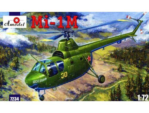 Amodel Mil Mi-1M Soviet helicopter 1:72 (7234)