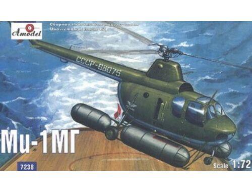 Amodel Mil Mi-1MG Soviet marine helicopter 1:72 (7238)