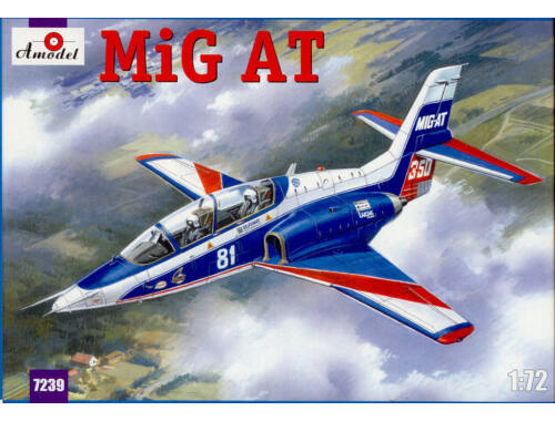 Amodel Mikoyan MIG-AT Russian modern trainer 1:72 (7239)