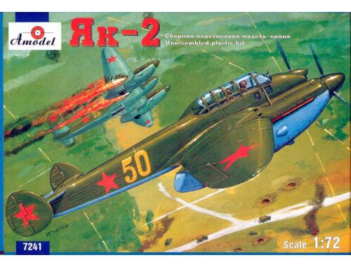 Amodel Yakovlev Yak-2 Soviet WWII bomber 1:72 (7241)