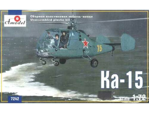 Amodel Kamov Ka-15 Soviet helicopter 1:72 (7242)