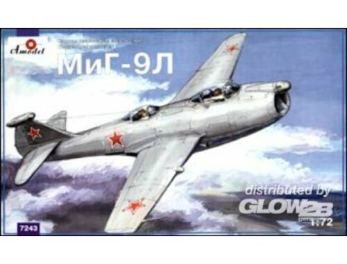 Amodel MiG-9L Soviet experimental fighter 1:72 (7243)