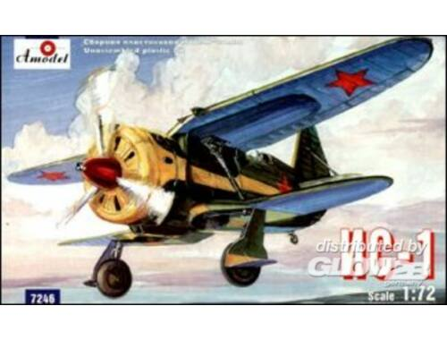 Amodel IS-1 Soviet experimental fighter 1:72 (7246)