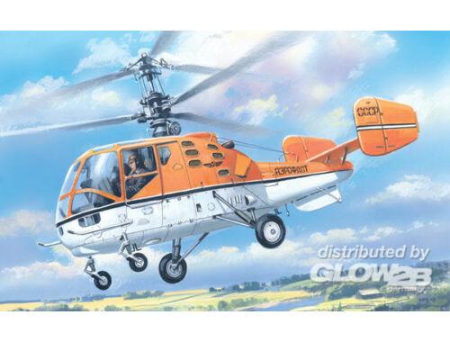 Amodel Kamov Ka-15M Soviet civil helicopter 1:72 (7256)