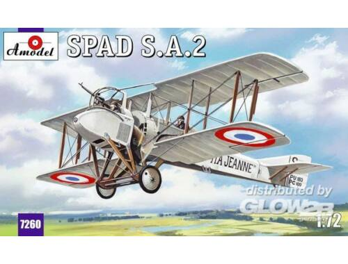 Amodel SPAD A2 French WWI fighter 1:72 (7260)