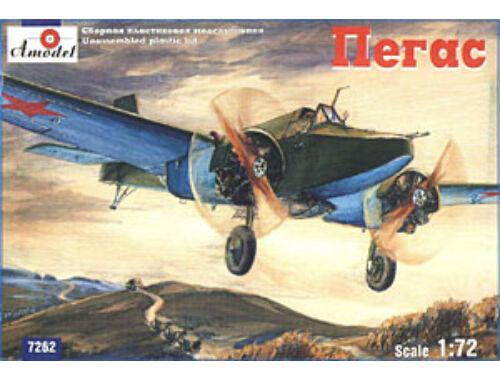 Amodel Pegas Soviet light bomber   strike airc. 1:72 (7262)