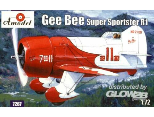 Amodel Gee Bee Super Sportster R1 Aircraft 1:72 (7267)