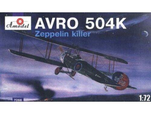 Amodel AVRO-504K Zeppelin Killer 1:72 (7268)