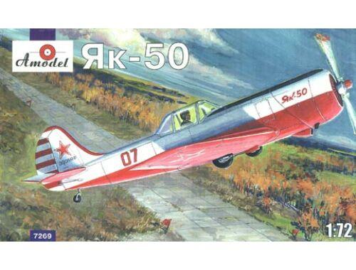 Amodel Yakovlev Yak-50 single seat sporting ai. (7269)