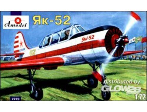 Amodel Yakovlev Yak-52 Soviet two-seat sporting 1:72 (7270)
