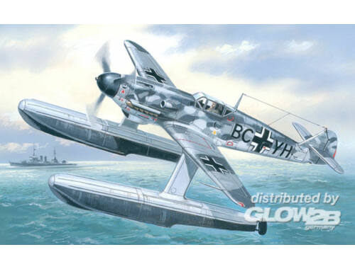 Amodel Messerschmitt Bf-109W Ger. WWII fighter 1:72 (7275)