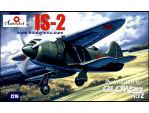 Amodel IS-2 Soviet experimental fighter 1:72 (7276)