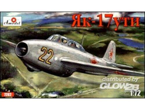 Amodel Yakovlev Yak-17UTI Soviet jet fighter 1:72 (7282)
