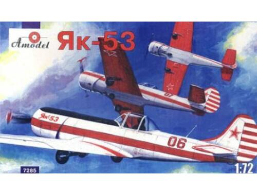 Amodel Yakovlev Yak-53 single-seat sporting ai. 1:72 (7285)